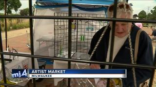 Artist Market on the South Side of Milwaukee - Video