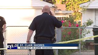 Police investigating after man shot at house in St. Clair Shores - Video