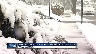How to protect your home against cold and ice