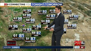 23ABC Evening weather update October 1,2020