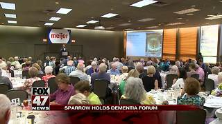 Dementia focus of Sparrow Memory Care and Aging Series - Video