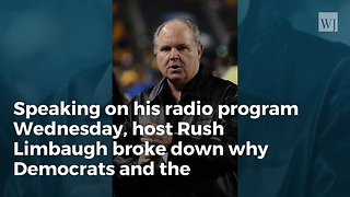 Rush Limbaugh Democrats' Response To Trump Soto Revealed Ugly Truth About Them - Video