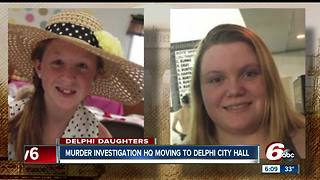 Delphi girls' investigation headquarters moving back to smaller location - Video