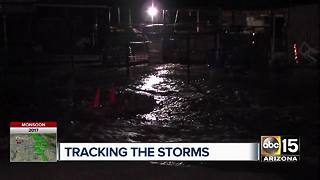 Storms come into the Valley on Friday night - Video