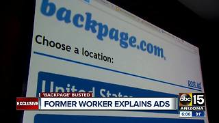 Former Backpage worker explains ads after founders charged - Video