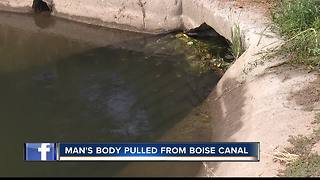 Police find body in Boise canal - Video