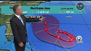 Hurricane Jose does not appear to be a threat to Florida - Video