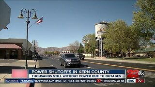 Power Shutoffs in Kern County, thousands still without due to outages