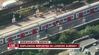 Explosion reported in London subway - Video