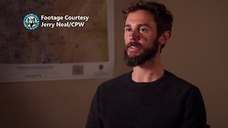 Travis Kauffman talks with CPW about Horsetooth mountain lion attack