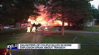 Surviving sisters speak after deadly Orion Township house explosion - Video