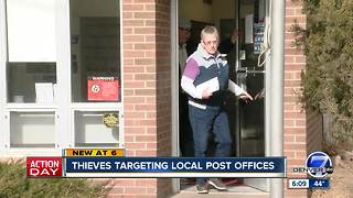 Thieves targeting post offices in Colorado - Video