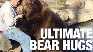 Man and 10-Foot Bear Share Extremely Close Bond
