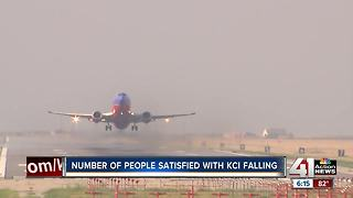 Survey shows drop in satisfaction with KCI - Video