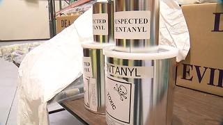 A look inside the DEA's drug vault - Video