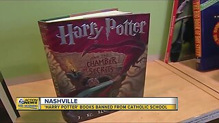 Catholic school bans all Harry Potter books