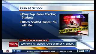 Student accused of carrying gun on grounds of Southport High School - Video