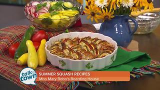 Lynne Tolley's Summer Squash Recipes - Video