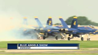 Blue Angels Air Show draws in thousands - Video
