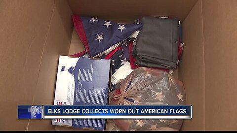 Nampa group works to make sure American flags are disposed of properly