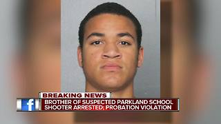 Parkland school shooter's brother, Zachary Cruz, arrested — again - Video