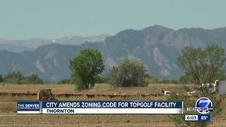 City amends zoning code for TopGolf facility - Video