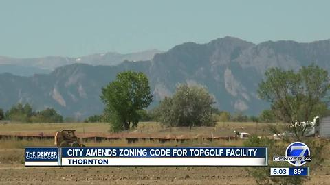 City amends zoning code for TopGolf facility