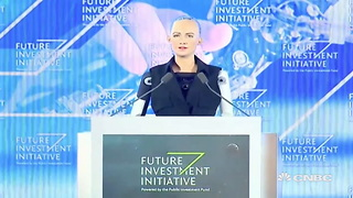 By Granting Saudi Arabia Robot Citizenship, It Already Has More Rights Than Real Life Human Women - Video