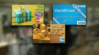 MasterCard, Visa  gift card secret - Video