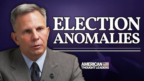 Tony Shaffer on Election Anomalies: Late Night Spikes for Biden; Curated Ballots; USPS Whistleblower   American Thought Leaders