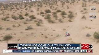 Thousands flock to California City this weekend - Video