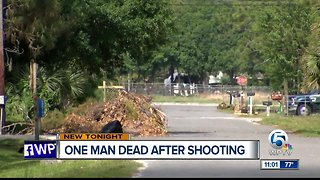 Fatal shooting in Jupiter Farms early Sunday morning
