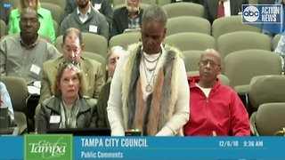 Woman accuses Tampa CIty Council Chairman of sexual battery - Video