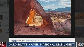 President Obama designates Gold Butte as National Monument - Video