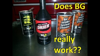 Does BG Fuel System Cleaner Really Work?