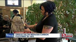 Salon reduces carbon footprint - Video