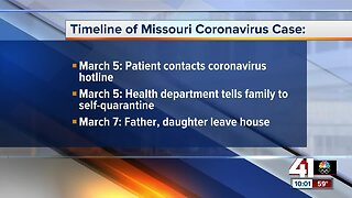 Family of coronavirus patient breaks quarantine