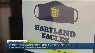 Remote learning for Hartland High School