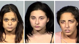 3 women arrested for staging fake accidents in Las Vegas - Video