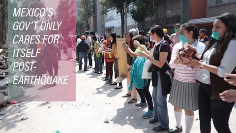 Corruption reigns over Mexico City's earthquake relief
