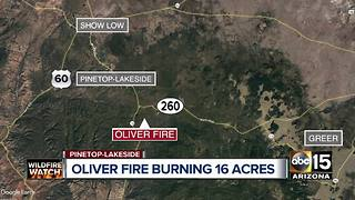 Top stories: Shots exchanged during Surprise robbery, Oliver Fire burning near Pinetop-Lakeside, winds crank up into the weekend - Video