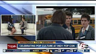 Stranger Things actor on Good Morning Indiana