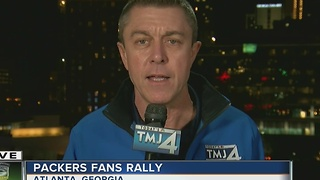 George Mallet wraps up Saturday's coverage of Packers in Atlanta - Video