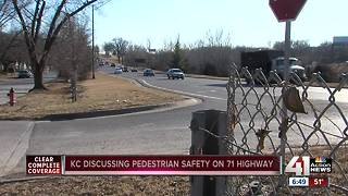 Driver hits, kills pedestrian on 71 Highway - Video