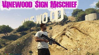 VINEWOOD SIGN MISCHIEF