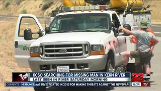 Search for missing man continues - Video