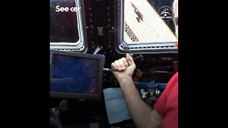 Operating Robotic Arm in Space
