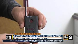 Top 3 tips to keeping your family safe from hidden cameras - Video
