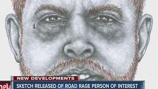 Sketch released of person of interest in Road Rage shooting - Video