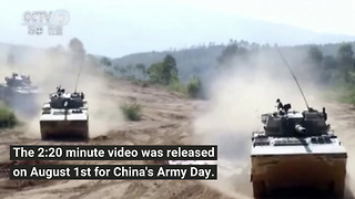 China's New Army Propaganda Video Has Gone Viral